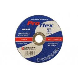 Abracs 100mmx3.2mm Flat Cutting Discs 25pk