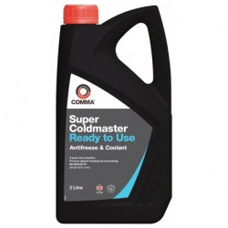 Comma Super Coldmaster Antifreeze Rtu 2l