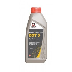 Comma Dot 3 Synthetic Brake Fluid 1l