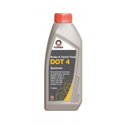 Comma Dot 4 Synthetic Brake Fluid 1l