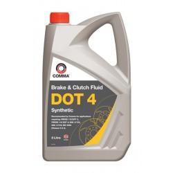 Comma Dot 4 Synthetic Brake Fluid 5l