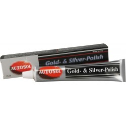 Autosol Gold Silver Polish 75ml Tube