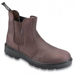 Contractor Dealer Boot Brown Size 7