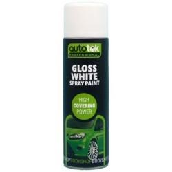 Autotek 501 Gloss White Paint 500ml
