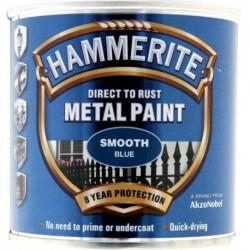 Hammerite 015 Smooth Metal Paint Blue 250ml