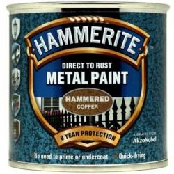Hammerite 017 Hammered Metal Paint Copper 250ml