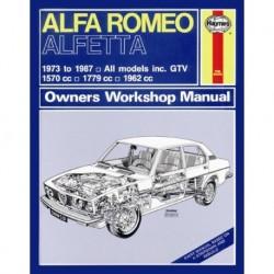 Haynes Alfa Romeo 1973-87 Classic Reprint