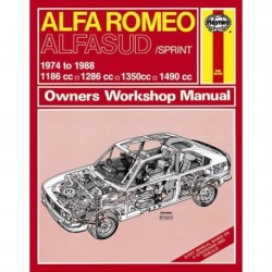 Haynes Alfa Romeo 1974-88 Classic Reprint
