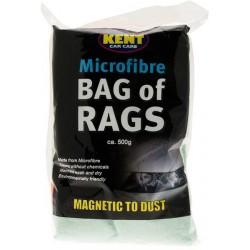 Kent Microfibre Bag Of Rags Ca 500g