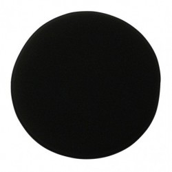 Kent 5inch Black Sponge Polish Applicator Pad