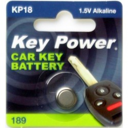 Keypower Car Keyfob Battery 189 Alkaline 1.5v