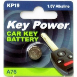 Keypower Car Keyfob Battery A76 Alkaline 1.5v