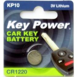 Keypower Car Keyfob Battery Cr1220 Lithium 3v