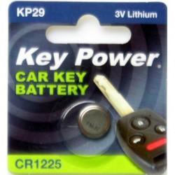Keypower Car Keyfob Battery Cr1225 Lithium 3v