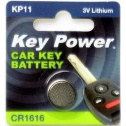 Keypower Car Keyfob Battery Cr1616 Lithium 3v
