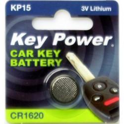 Keypower Car Keyfob Battery Cr1620 Lithium 3v