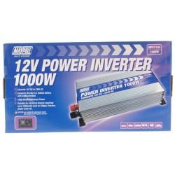 Maypole Power Inverter 1000w 12v/230v