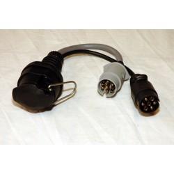 Pct 7 Pin Towbar Wiring Kit Nissan