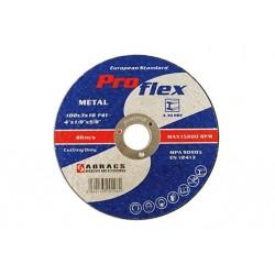 Abracs 100mmx3.2mm Flat Cutting Discs Pk10