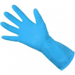 Unicare Blue Household Gloves Lrg 1x Pair