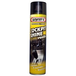 Wynns Cockpit Shine Vanilla Aerosol 600ml