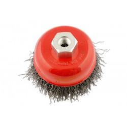 Abracs Crimped Cup Brush 75mm X M10 1.5