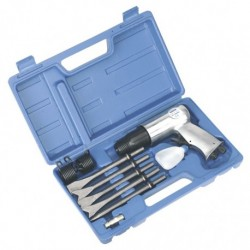 Sealey Air Hammer with Chisels Long Stroke