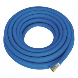 """Sealey Air Hose 10mtr x 8mm with 1/4""""BSP Unions Extra Heavy-Duty"""