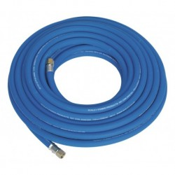 """Sealey Air Hose 15mtr x 8mm with 1/4""""BSP Unions Extra Heavy-Duty"""