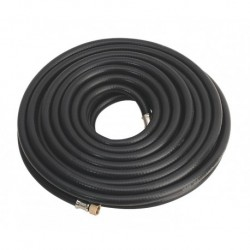 """Sealey Air Hose 15mtr x 8mm with 1/4""""BSP Unions Heavy-Duty"""