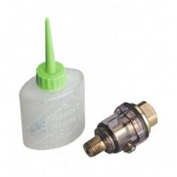 "Sealey Mini In-Line Air Tool Oiler 1/4""BSP with Filler"