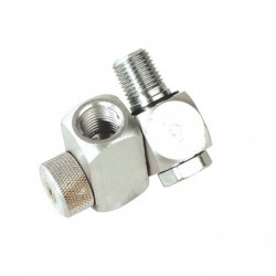 """Sealey Z-Swivel Air Hose Connector with Regulator 1/4""""BSP"""