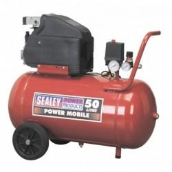 Sealey Compressor 50ltr Direct Drive 2hp