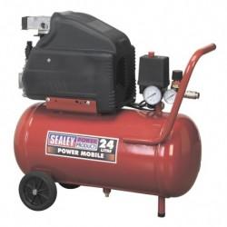 Sealey Compressor 24ltr Direct Drive 1.5hp