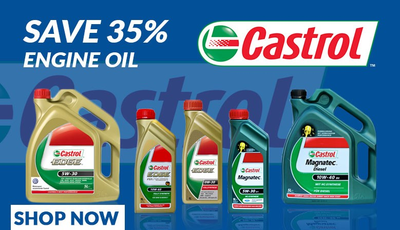 Save with Castrol Oil from Midland Autos