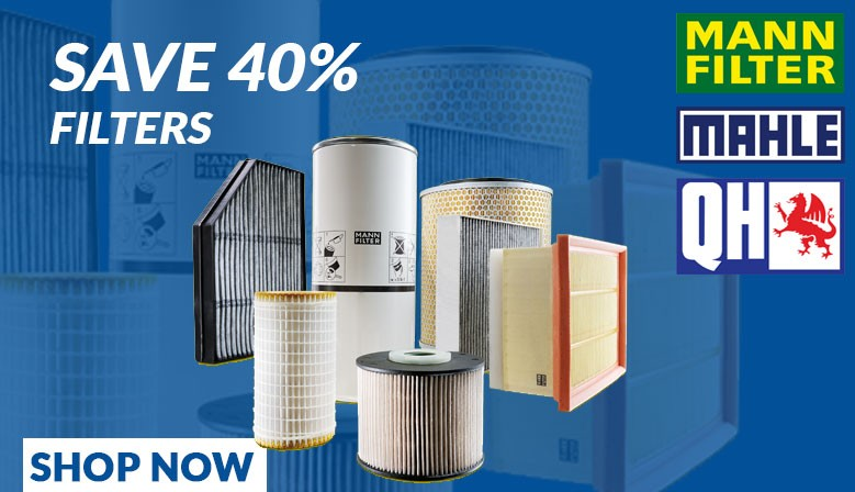 Save on filters with Midland Autos