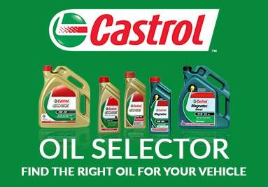 Castrol Oil Selector